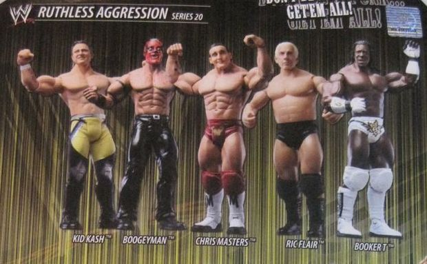 WWE Jakks Ruthless Aggression Series 20 Figures