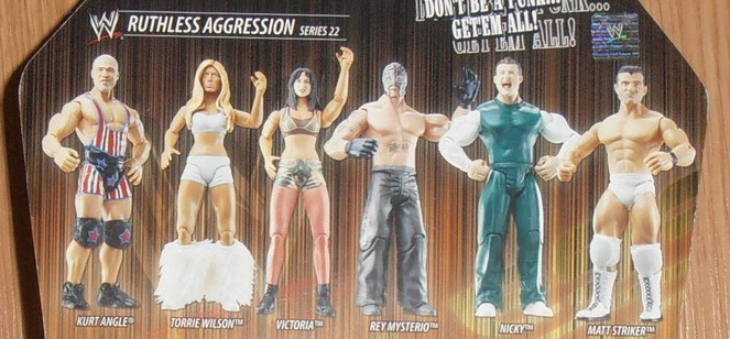 WWE Jakks Ruthless Aggression Series 22 Figures