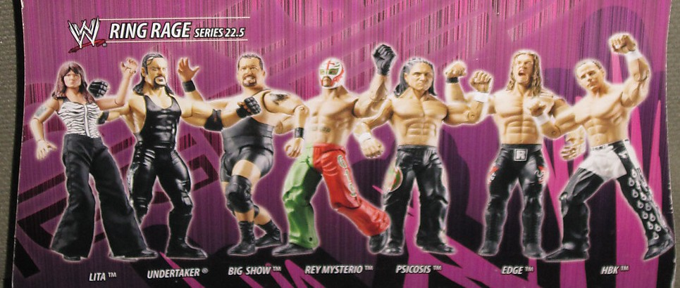 WWE Jakks Ruthless Aggression Series 22.5 Figures