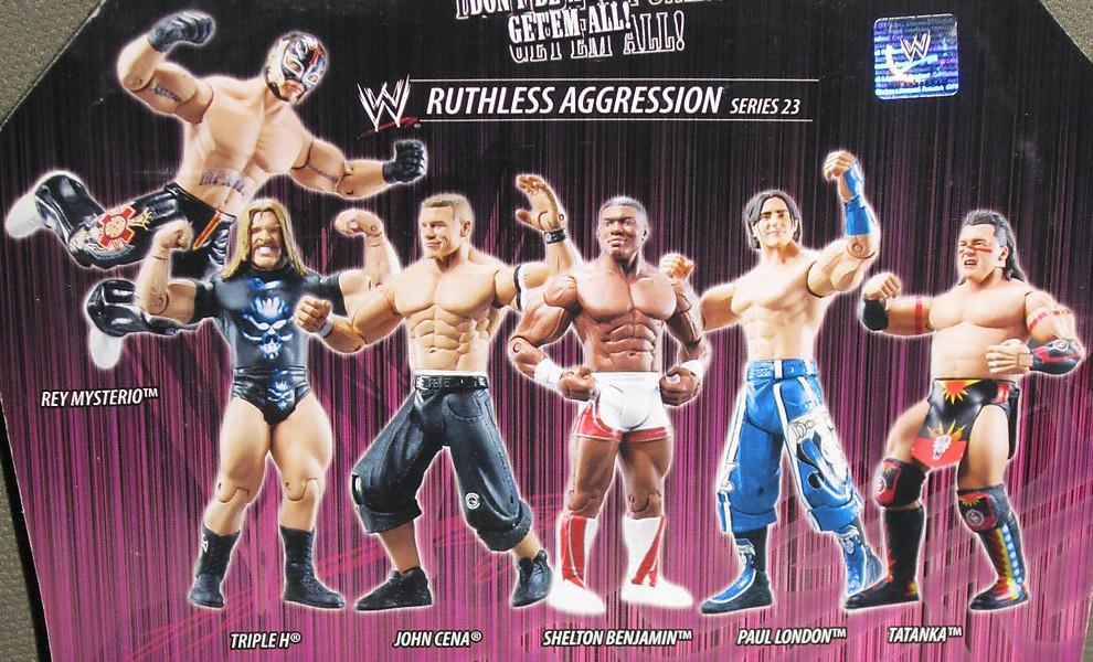 WWE Jakks Ruthless Aggression Series 23 Figures