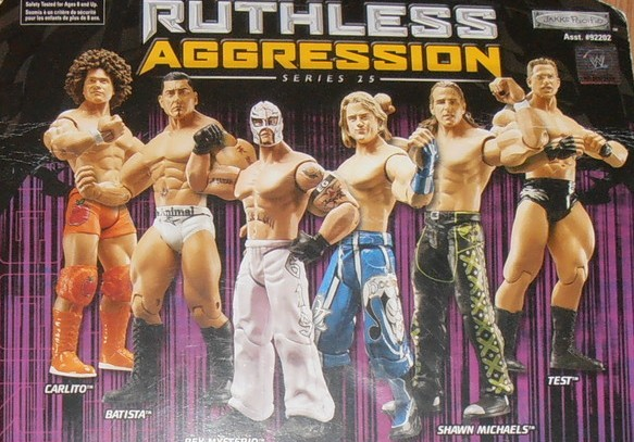 WWE Jakks Ruthless Aggression Series 25 Figures