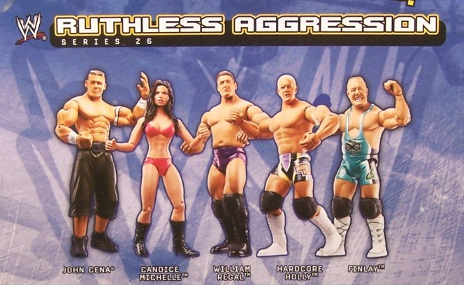 WWE Jakks Ruthless Aggression Series 26 Figures