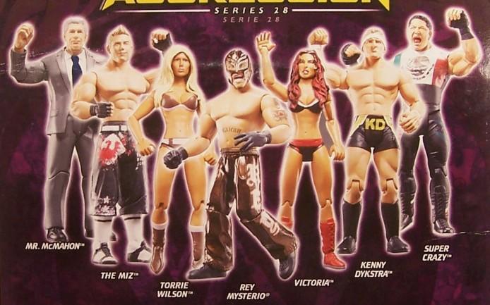 WWE Jakks Ruthless Aggression Series 28 Figures