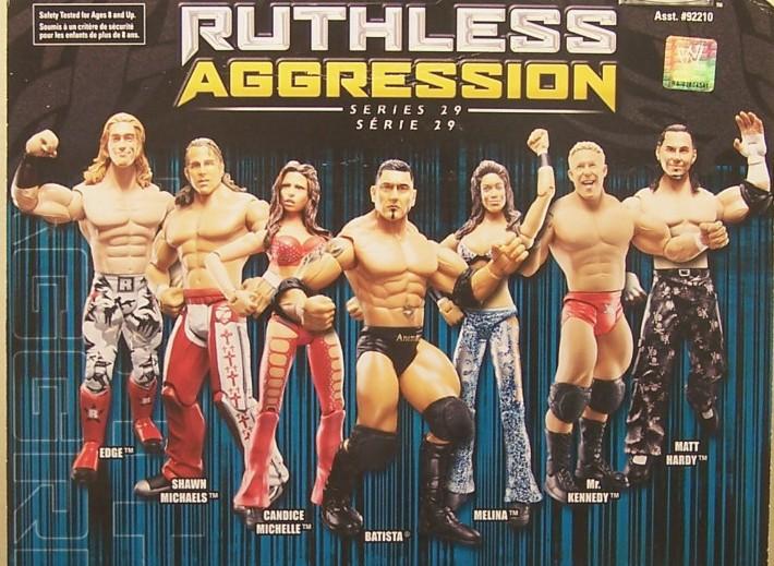 WWE Jakks Ruthless Aggression Series 29 Figures