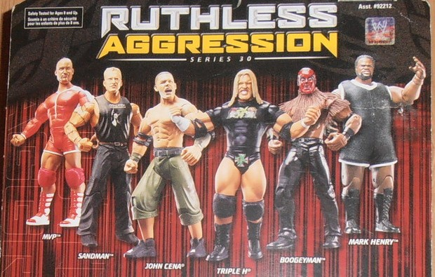 WWE Jakks Ruthless Aggression Series 30 Figures