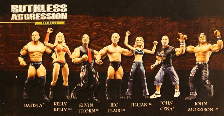 WWE Jakks Ruthless Aggression Series 31 Figures