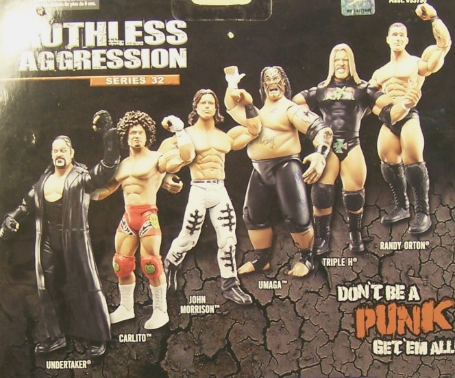 WWE Jakks Ruthless Aggression Series 32 Figures