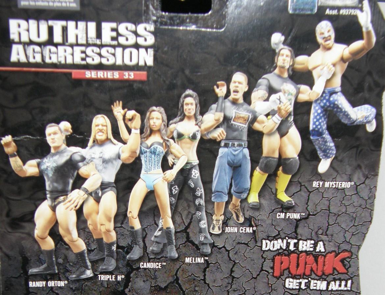 WWE Jakks Ruthless Aggression Series 33 Figures