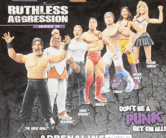 WWE Jakks Ruthless Aggression Series 34 Figures