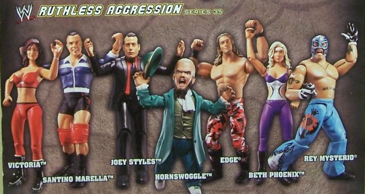 WWE Jakks Ruthless Aggression Series 35 Figures