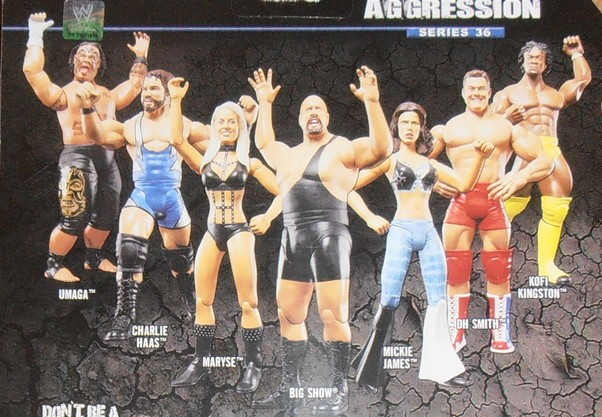 WWE Jakks Ruthless Aggression Series 36 Figures