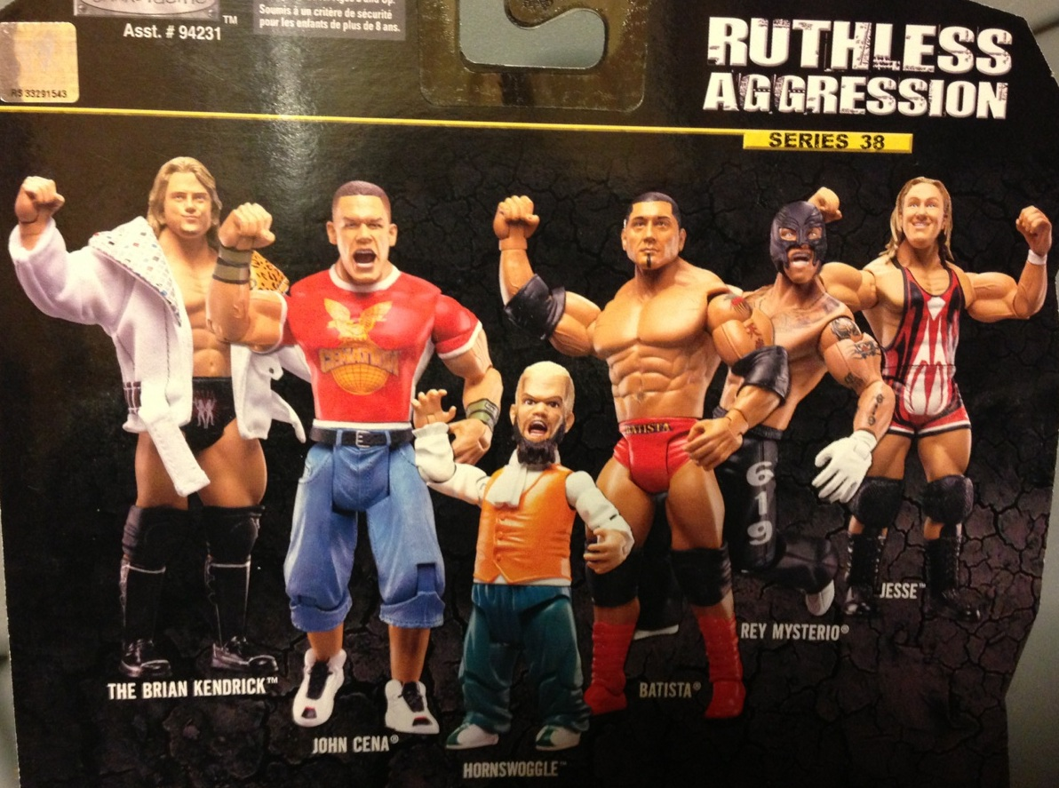 WWE Jakks Ruthless Aggression Series 38 Figures