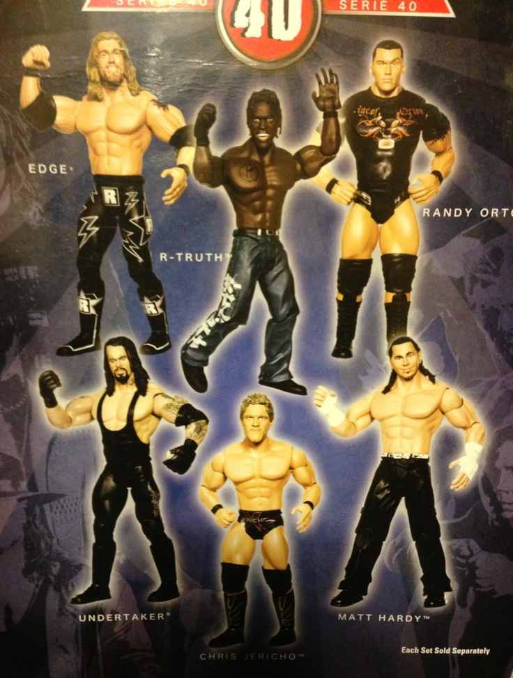WWE Jakks Ruthless Aggression Series 40 Figures