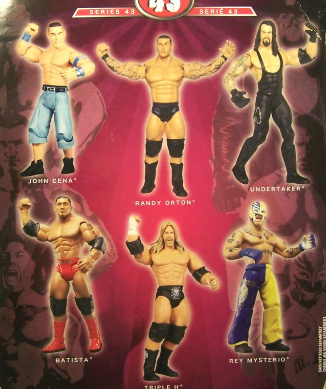 WWE Jakks Ruthless Aggression Series 43 Figures