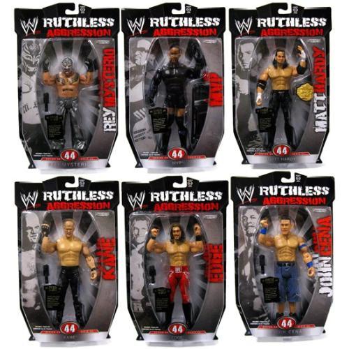 WWE Jakks Ruthless Aggression Series 44 Figures