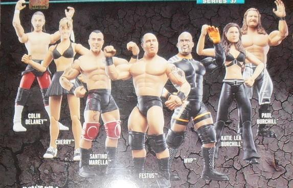 WWE Jakks Ruthless Aggression Series 37 Figures