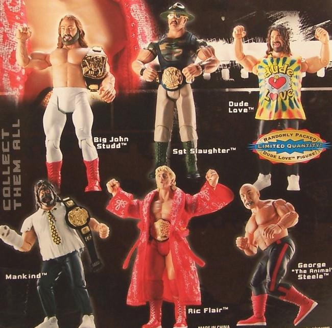 WWE Jakks Ruthless  Aggression Classic Superstars Series 2 Figures