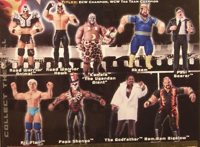 WWE Jakks Ruthless  Aggression Classic Superstars Series 8 Figures