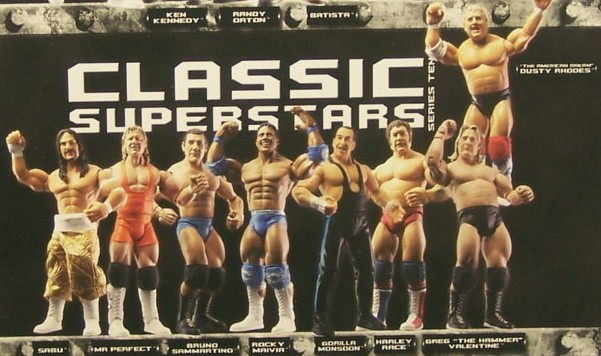 WWE Jakks Ruthless  Aggression Classic Superstars Series 10 Figures
