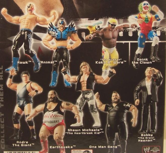 WWE Jakks Ruthless  Aggression Classic Superstars Series 6 Figures