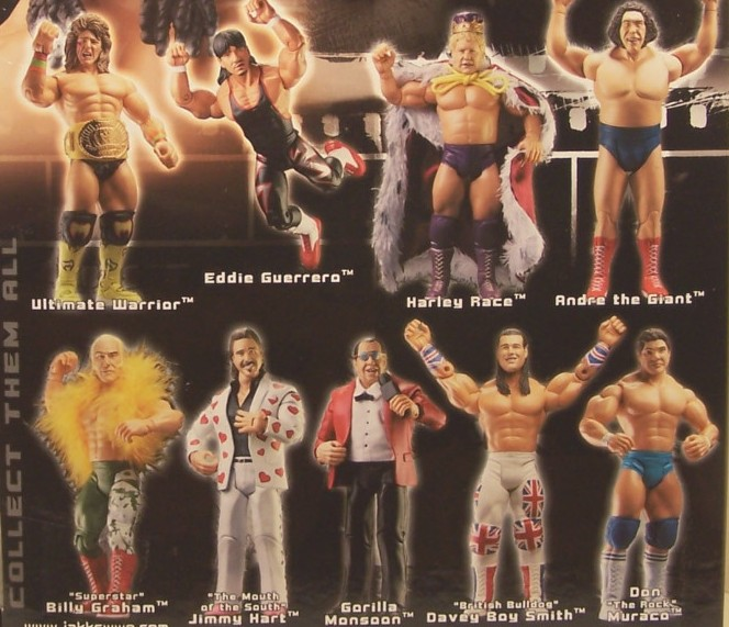 WWE Jakks Ruthless  Aggression Classic Superstars Series 7 Figures