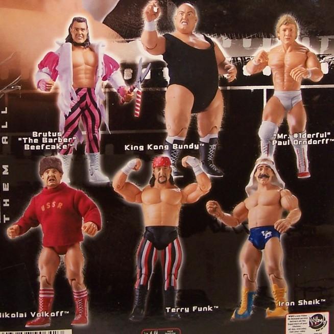 WWE Jakks Ruthless  Aggression Classic Superstars Series 5 Figures