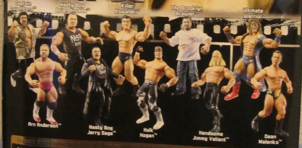 WWE Jakks Ruthless  Aggression Classic Superstars Series 12 Figures