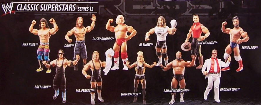WWE Jakks Ruthless  Aggression Classic Superstars Series 13 Figures