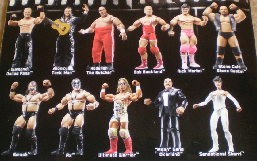 WWE Jakks Ruthless  Aggression Classic Superstars Series 14 Figures