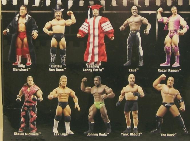WWE Jakks Ruthless  Aggression Classic Superstars Series 15 Figures