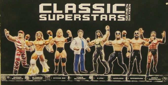 WWE Jakks Ruthless  Aggression Classic Superstars Series 16 Figures