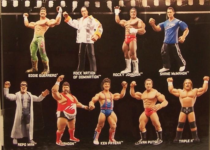 WWE Jakks Ruthless  Aggression Classic Superstars Series 17 Figures