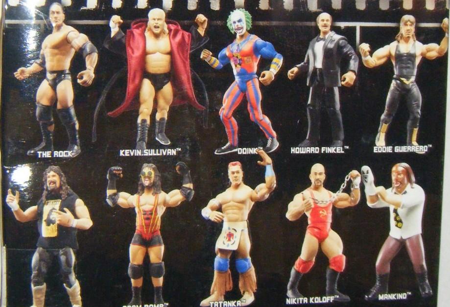 WWE Jakks Ruthless  Aggression Classic Superstars Series 19 Figures