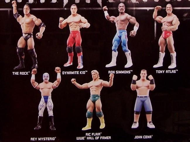 WWE Jakks Ruthless  Aggression Classic Superstars Series 20 Figures
