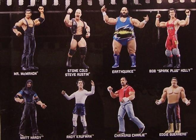 WWE Jakks Ruthless  Aggression Classic Superstars Series 22 Figures