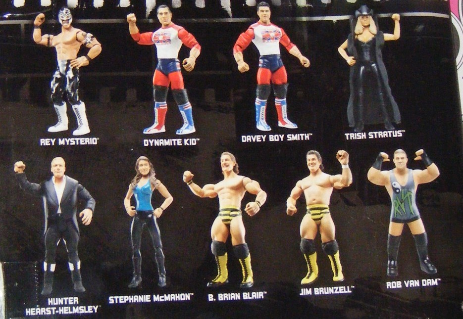 WWE Jakks Ruthless  Aggression Classic Superstars Series 24 Figures