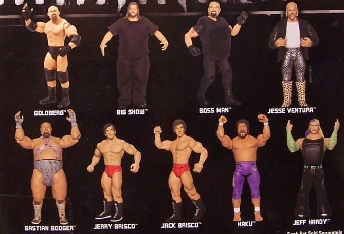 WWE Jakks Ruthless  Aggression Classic Superstars Series 25 Figures