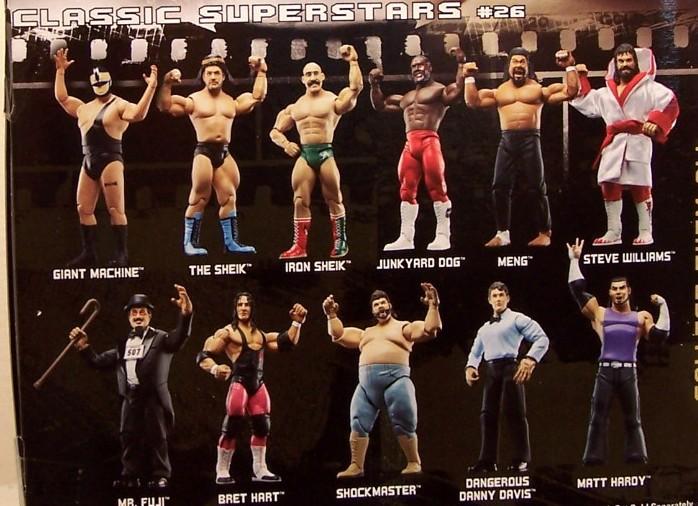 WWE Jakks Ruthless  Aggression Classic Superstars Series 26 Figures