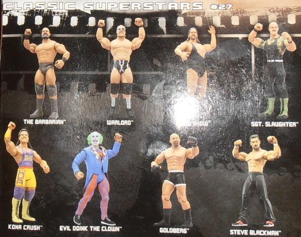 WWE Jakks Ruthless  Aggression Classic Superstars Series 27 Figures