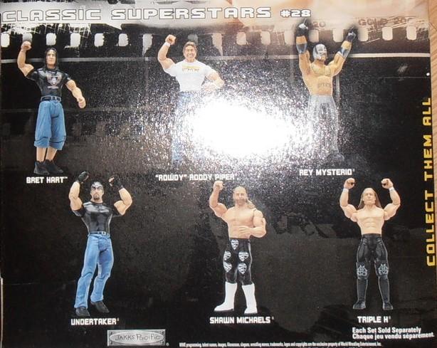 WWE Jakks Ruthless  Aggression Classic Superstars Series 28 Figures