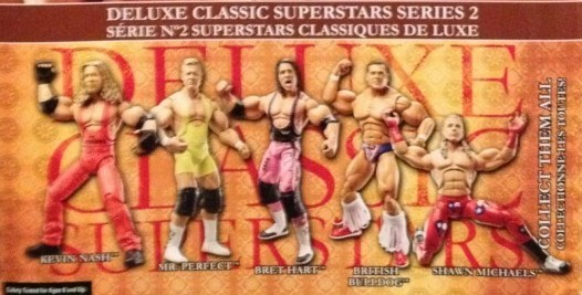 WWE Jakks Classic Deluxe Superstars Aggression Series 1 Figures