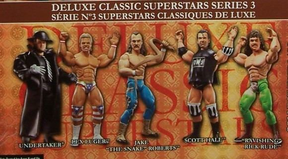WWE Jakks Classic Deluxe Superstars Aggression Series 3 Figures