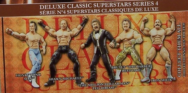 WWE Jakks Classic Deluxe Superstars Aggression Series 4 Figures