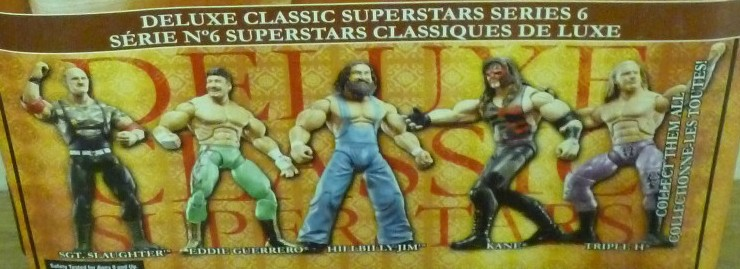 WWE Jakks Classic Deluxe Superstars Aggression Series 6 Figures
