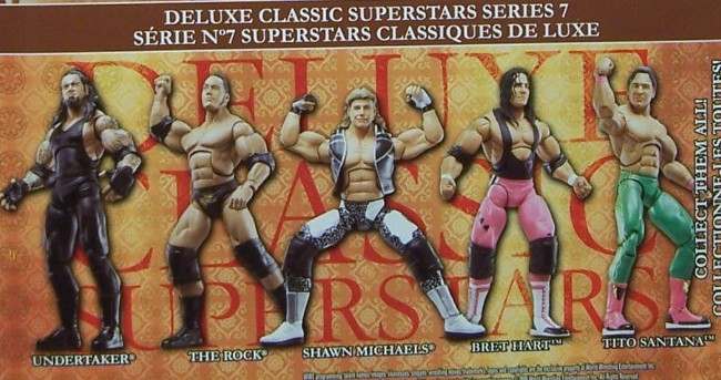 WWE Jakks Classic Deluxe Superstars Aggression Series 7 Figures