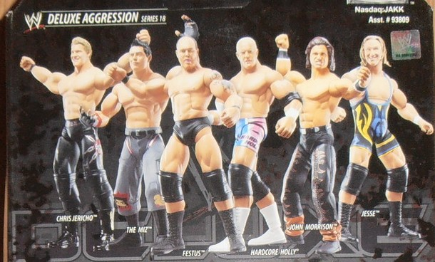 WWE Jakks Classic Deluxe Superstars Aggression Series 18 Figures