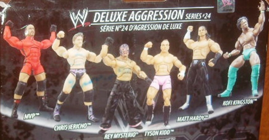 WWE Jakks Classic Deluxe Superstars Aggression Series 24 Figures