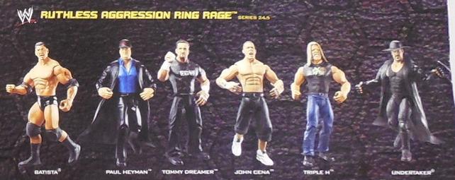 WWE Jakks Ruthless Aggression Series 24.5 Figures