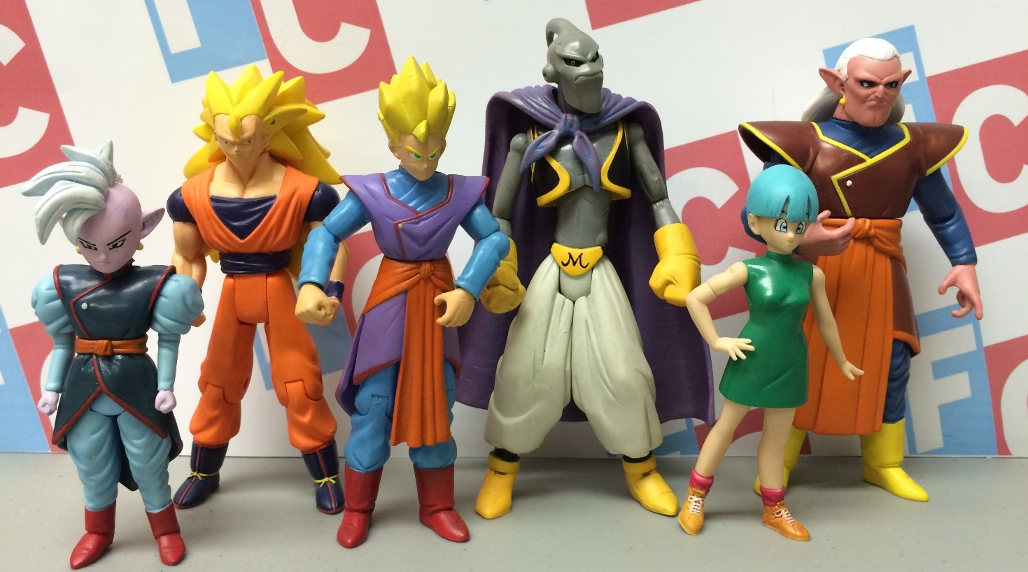 Dragon Ball Z Toys : Figure collections