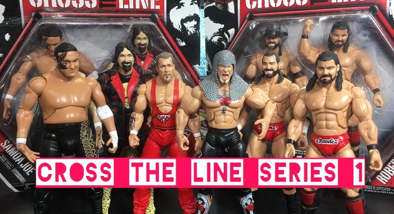 TNA Impact Wrestling Jakks Deluxe Cross the Line Series 1 Beer Money James Storm Bobby Roode Kevin Nash Scott Steiner Mick Foley Samoa Joe